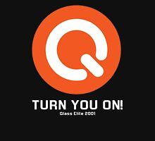 Turn You ON! - Q-Dance '01 New Logo Campaign -White Font- T-Shirt