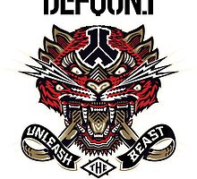 Defqon 1 2014 - Unleash the Beast by juen3000