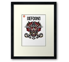 Defqon 1 2014 - Survival of the Fittest Framed Print