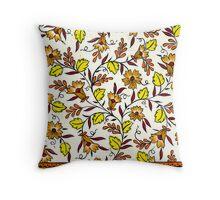 Saree Design 3 Throw Pillow