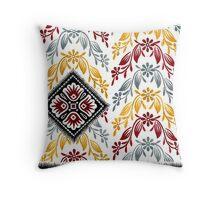 Saree Design 5 Throw Pillow