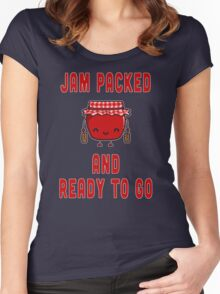 Jam Packed Women's Fitted Scoop T-Shirt