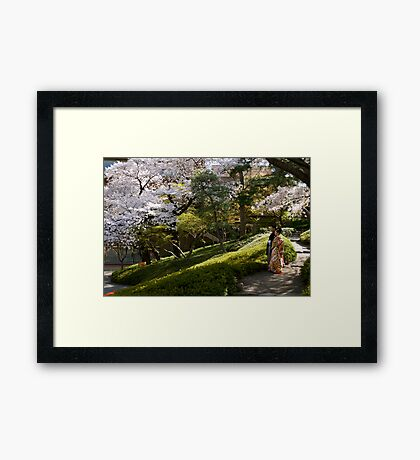 marriage + location= happiness? Framed Print