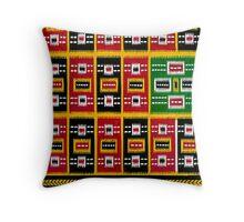 Saree Design 6 Throw Pillow