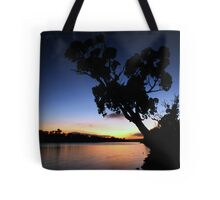 Murray River Sun Rise at Young Husband Tote Bag