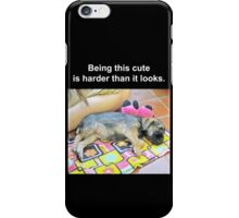 Being This Cute iPhone Case/Skin