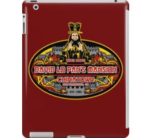 Lo pan's mansion  iPad Case/Skin