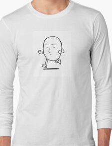 OPM- running saitama Long Sleeve T-Shirt