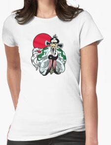 Fu manchu Womens Fitted T-Shirt