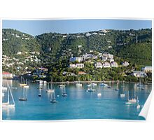 St Thomas Bay Poster