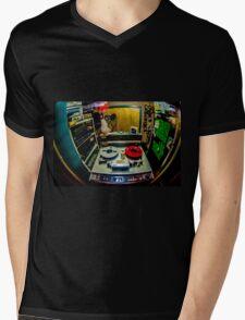 Tracked on Tape Mens V-Neck T-Shirt