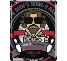 The Dude's Bowl-o-Rama iPad Case/Skin