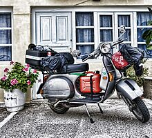 Touring by Vespa by RedChevy
