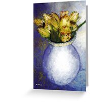 Jonquilles au Printemps Greeting Card