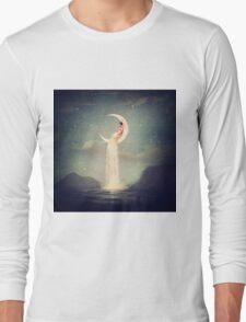 Moon River Lady Long Sleeve T-Shirt