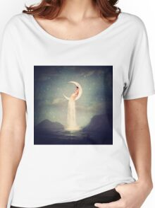 Moon River Lady Women's Relaxed Fit T-Shirt