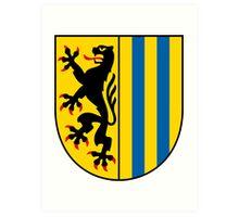 Coat of arms of Leipzig Art Print