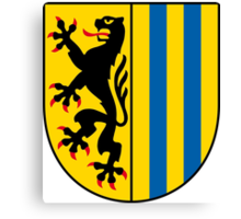 Coat of arms of Leipzig Canvas Print