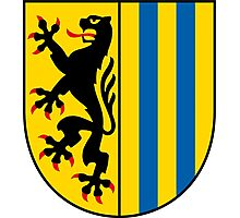 Coat of arms of Leipzig Photographic Print