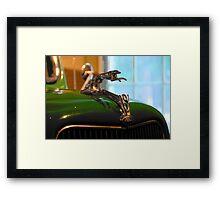 '36 Mascot Framed Print