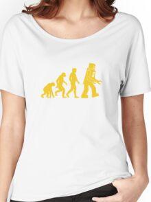 Robot Evolution Women's Relaxed Fit T-Shirt