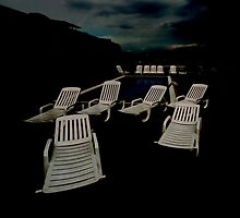 Deckchairs at Dawn by ragman