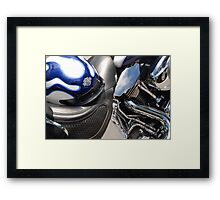 Motorcycle Still Life Framed Print