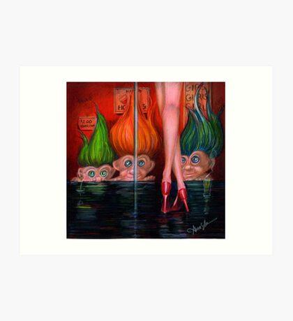Trollin by Alma Lee Art Print