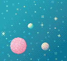 Brain Planet (8bit) by sp8cebit