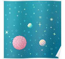 Brain Planet (8bit) Poster