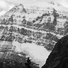 Rocky Mountains in B&W by Tiffany Vest