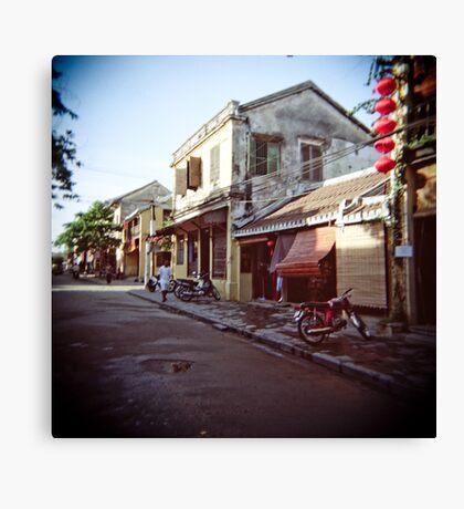 Hoi An back street Canvas Print