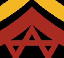 JAH Army Stripes Sticker
