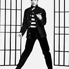 Elvis Presley Jailhouse Rock by JoAnnFineArt
