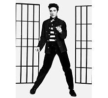 Elvis Presley Jailhouse Rock Photographic Print