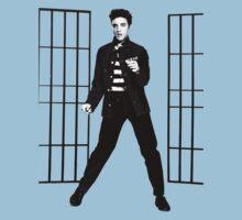 Elvis Presley Jailhouse Rock Kids Tee