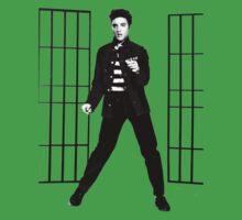 Elvis Presley Jailhouse Rock One Piece - Short Sleeve