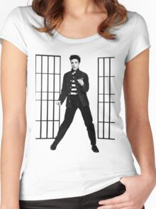 Elvis Presley Jailhouse Rock Women's Fitted Scoop T-Shirt
