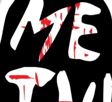 Let Me In - The Babadook [Red] Sticker