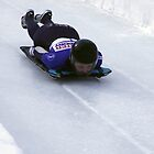 Skeleton Racing Park City, Utah U.S. 2012 World Cup Champion Katie Uhlaender by Judson Joyce