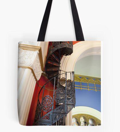 Spiral Stairs QVB Tote Bag