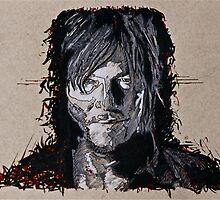 Daryl Dixon The Walking Dead by tevamana