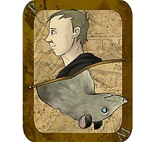Peter Pettigrew Playing Card Photographic Print