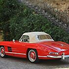 Mercedes 300 SL Roadster 1957 #12 by Stefan Bau