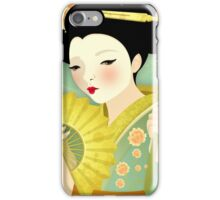 Geisha: Olive iPhone Case/Skin