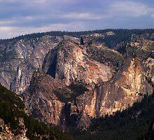 Yosemite Valley View by Olga Zvereva