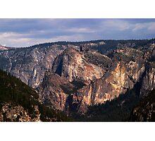 Yosemite Valley View Photographic Print