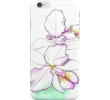 Orchid, beauty flowers iPhone Case/Skin