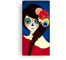Muertita: Candy Canvas Print