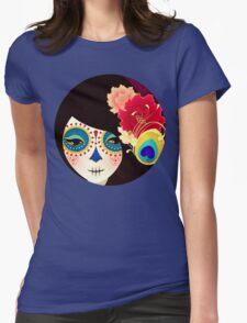 Muertita: Candy Womens Fitted T-Shirt